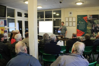 James Taylor delivering one of his talks on DCC