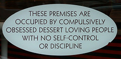 Rice to Riches Dessert Sign