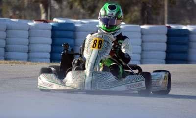 Los karting fueron los primeros en volver en el Autódromo de Río Cuarto.