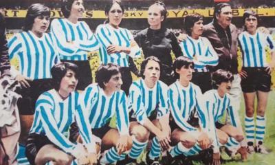 El 21 de agosto de 1971 Argentina derrotó por 4 a 1 a Inglaterra en el Mundial de México, lo que fue la primera participación mundialista de nuestro país en el fútbol femenino.