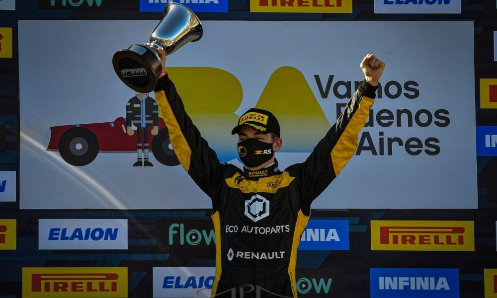 Facundo Marques ganó en Buenos Aires y manda en el torneo del TC 2000.