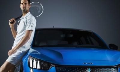 Novak Djokovic es la cara del patrocinio Peugeot en Roland Garros.