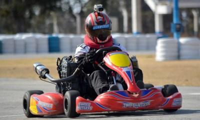 En Río Cuarto continúan las pruebas de kartings en el Autódromo.