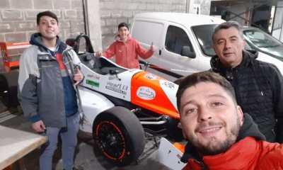 El ex mediocampista central Cristian Albuixech se acondiciona a un nuevo ambiente llamado automovilismo.