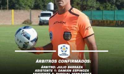 Los árbitros para la fecha 4 de las Zonas Campeonato de Primera Nacional.
