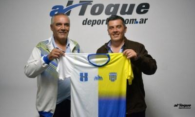 Atenas y Rosario FC firmaron un convenio de reciprocidad.