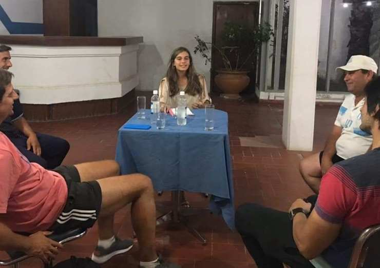 Roncedo sumó a la psicóloga deportiva Valentina Ternengo.