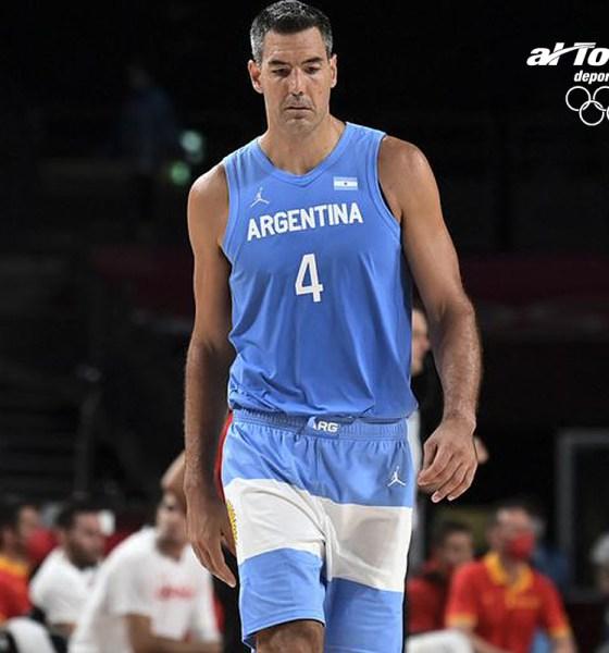 Luis Scola, referente olímpico argentino.