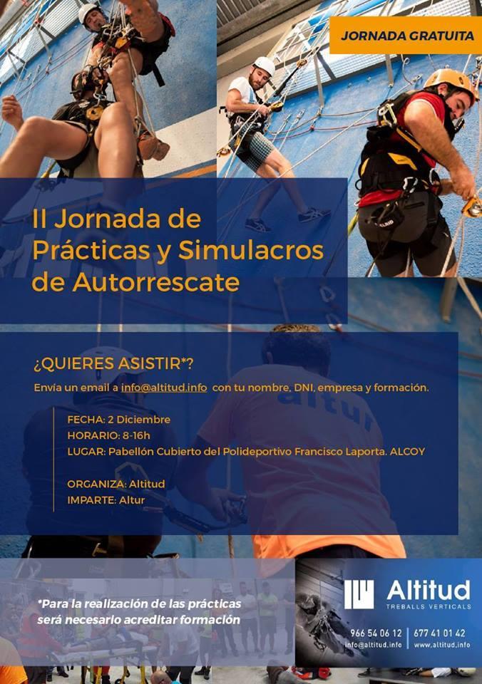 II Jornada de practicas y simulacros de Autorescate