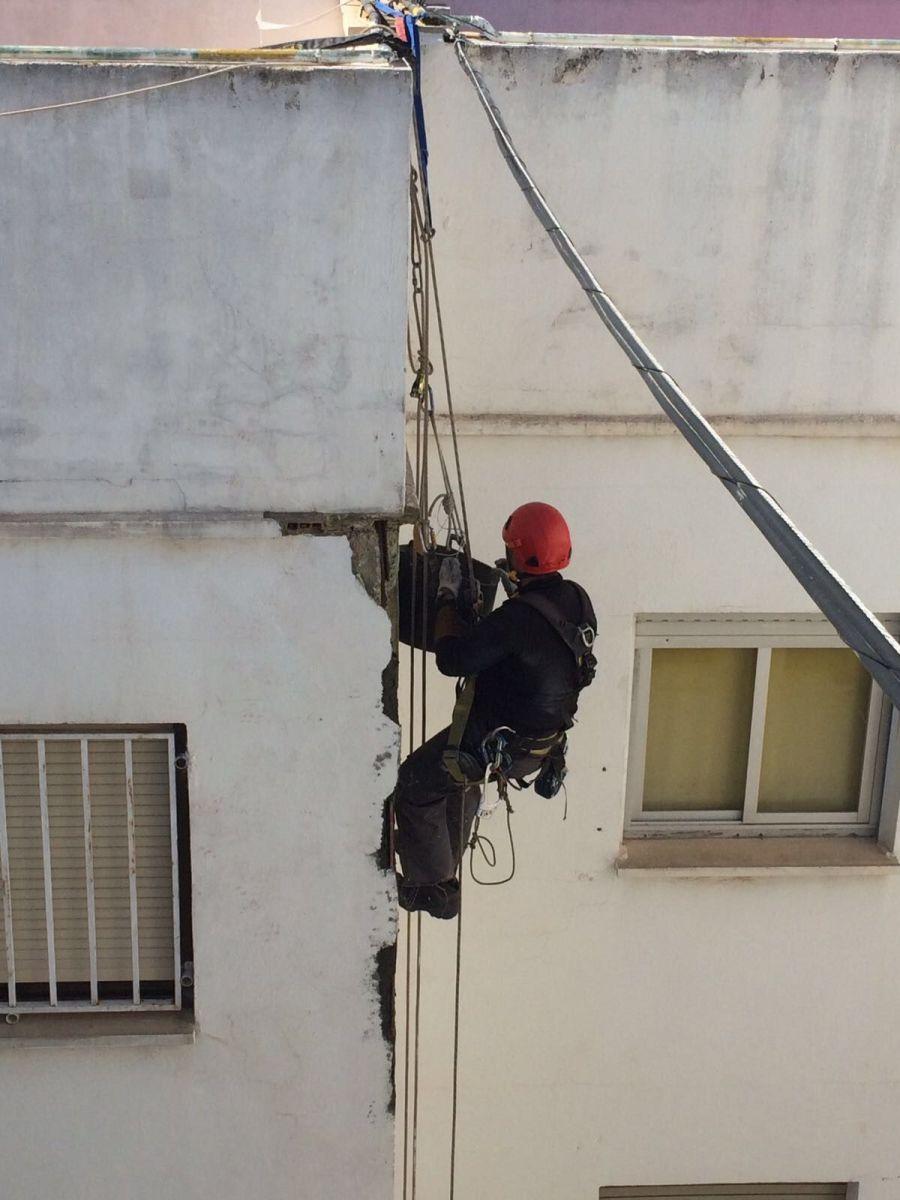 Reparacion forjado trabajos verticales