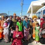 Tim Indonesia di festival rakyat kota tahara, jepang
