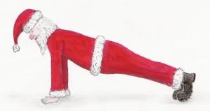 Fantastic Foam Rollers - Santa