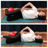 pilates helps knees SIDE KICK