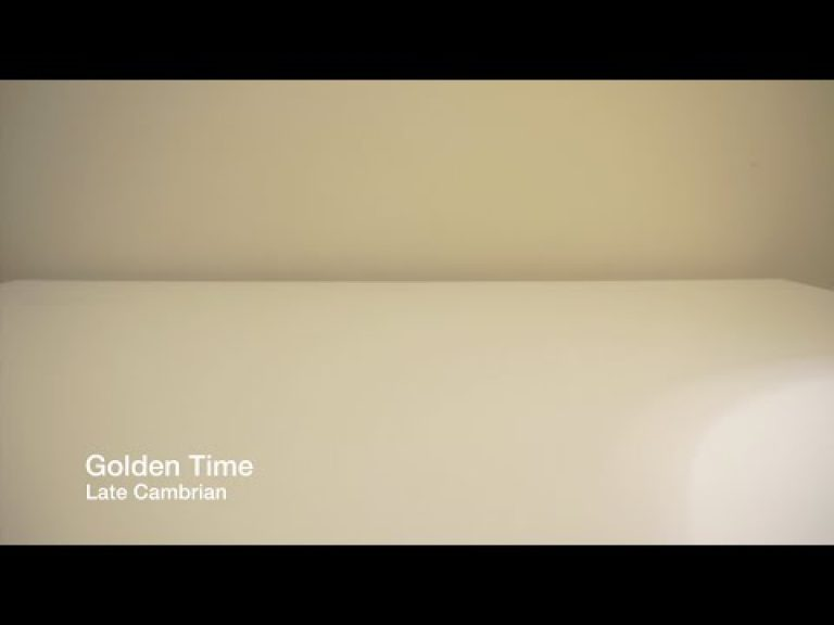 Late Cambrian – Golden Time