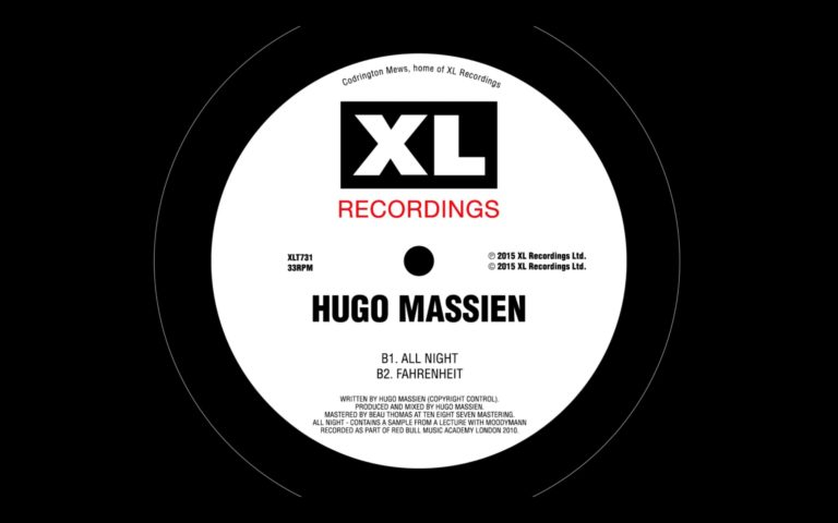 Hugo Massien – All Night