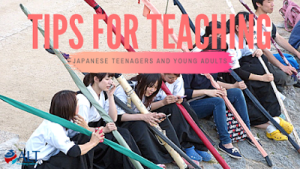 Tips For Teaching Japanese Teenagers And Young Adults by Lina Gordyshevskaya