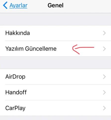 iPhone Telefonumu iOS 11.0.0 güncelledim ama yavaşladı ne yapmalıyım?