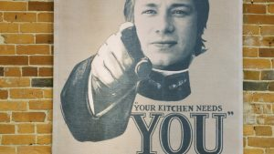 your kitchen needs you
