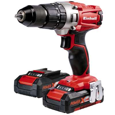 EINHELL Perceuse à percussion sans fil TE-CD 18/2 Li-i Kit