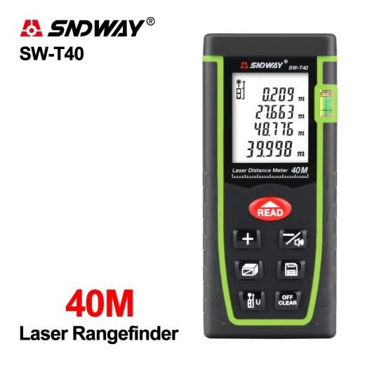 SNDWAY Télémètre Laser    40m 60m 80m 100m