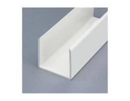 Profilé PVC de Chant de 60 mm blanc