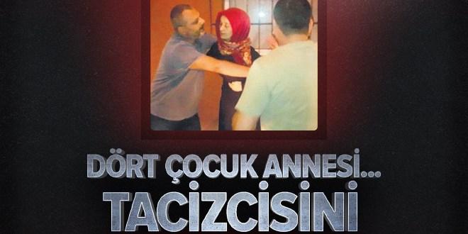 Bursa'da 4 çocuk annesi kadın tacizcisini kalbinden vurdu  .