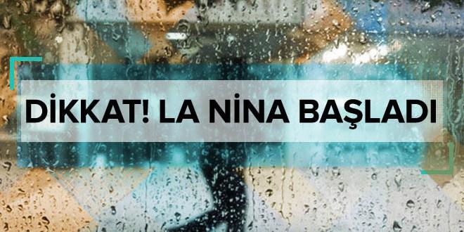 La Nina başladı! Soğuk ve yağışlı havalara dikkat