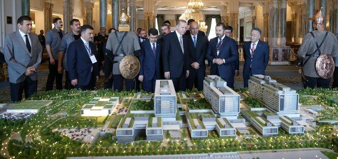İkitelli Şehir Hastanesi dünyanın en büyükleri arasında olacak
