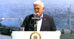 Başbakan'dan Tuzla'da Denize İndirilen Geminin Personeline İkramiye Müjdesi
