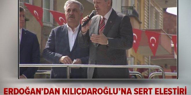 Erdoğan: Kılıçdaroğlu, yazıklar olsun sana!