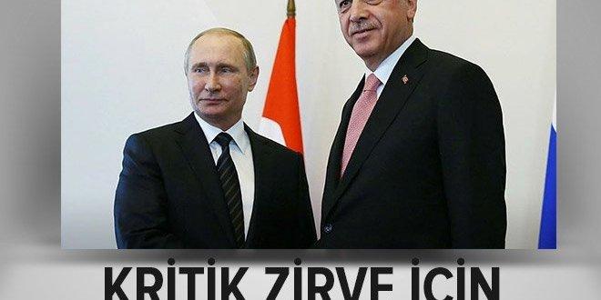 Rusya Devlet Başkanı Putin Ankara'da.