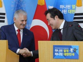 Başbakan Yıldırım'dan Güney Kore'de açıklamalar