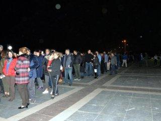 Diyarbakır'da filarmoni orkestrası kuyruğu