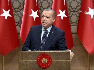 Erdoğan TUBİTAK Ödül Töreni'nde