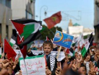 "Fas'tan ""Filistin'e destek"" etkinlikleri"