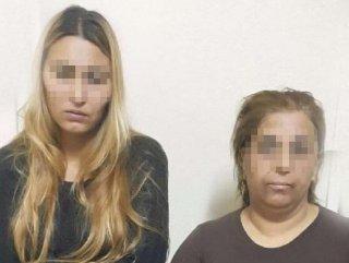 Hırsızlık yapan elektronik kelepçeli kadınlar yakalandı