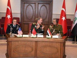 Hulusi Akar, ABD'li komutanlarla görüştü