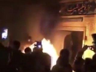 İran'da kamu binaları kundaklandı