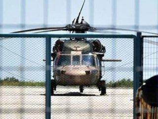 Helikopterlerin mühimmatlarını birgün önceden taşımışlar