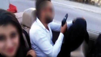 Polis o maganda damat ile sağdıcı yakaladı!