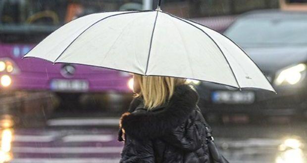 Saat verildi, yağmur geliyor! İstanbul hava durumu: Meteoroloji'den son dakika yağmur uyarısı