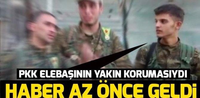 PYD/PKK elebaşlarından birinin koruması yakalandı.