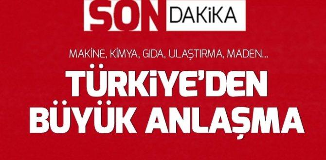 Türkiye ile Kazakistan arasında 1,7 milyar dolarlık anlaşma EKONOMİ
