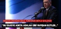 Başkan Erdoğan Necip Fazıl Ödülleri töreninde konuştu