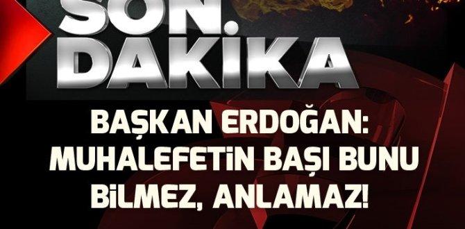 Son dakika: Başkan Erdoğan'dan İstanbul'da flaş açıklamalar