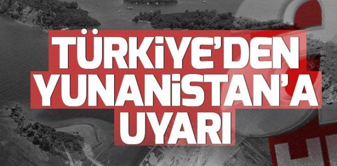Son dakika: Türkiye'den Yunanistan'a çağrı
