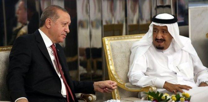 Başkan Erdoğan, Suudi Kral Abdülazizştü ile görüştü