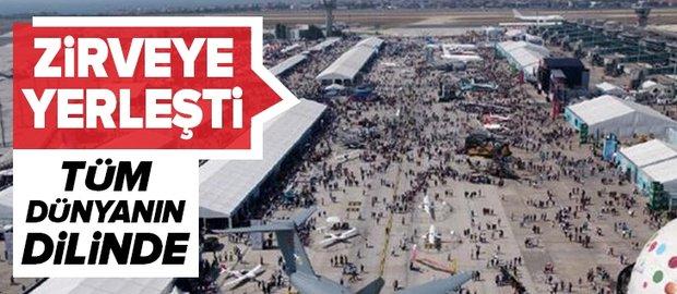 TEKNOFEST İstanbul, 1 milyon 720 bin ziyaretçiyle zirveye yerleşti