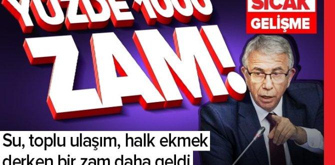 Mansur Yavaş'tan otopark ücretlerine fahiş zam |Video