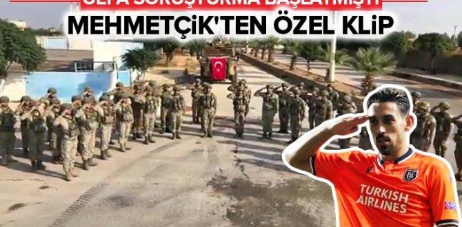Milli Savunma Bakanlığından İrfan Can Kahveci'ye destek mesajı .